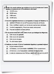 Preguntas del primer Ejercicio (Cuestionario-Test) de Gestión Turno Libre realizado el día 08/03/2014 Modelo A
