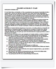 Segundo Ejercicio - Supuesto práctico del examen realizado el 27/06/2009. Las respuestas correctas están al final