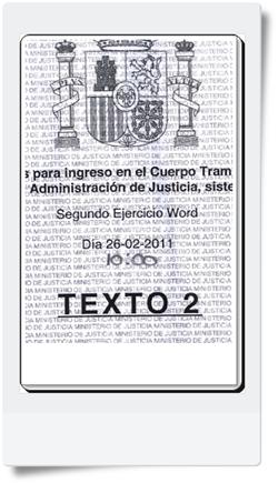 Segundo Ejercicio (Word) de Tramitación realizado el 26/02/2011